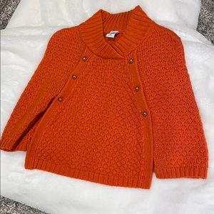 Janie and Jack toddler sweater cape